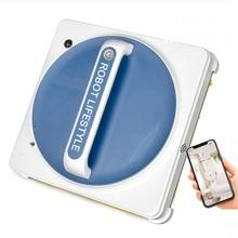 Новое приложение, робот для чистки окон, магнитный пылесос, анти-падение, автоматическая мойка стекла, Встроенные датчики обнаружения краев