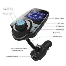 Car MP3 Player FM Transmitter Bluetooth Car Kit Wireless Radio Audio Adapter With USB 2.1A Charger FM Transmitter цена
