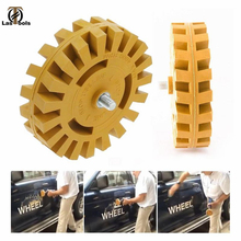 4 inch 100MM Universal Rubber Eraser Wheel For Remove Car Glue Adhesive Sticker Auto Repair Paint Tool Pneumatic Degumming Disc omni wheel 4 inch 100mm double nylon rubber robot competition wheel
