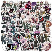 10/50pcs/pack Danganronpa Trigger Happy Havoc Japanese anime Stickers For Refrigerator Car Helmet DIY Gift box Bicycle Guitar