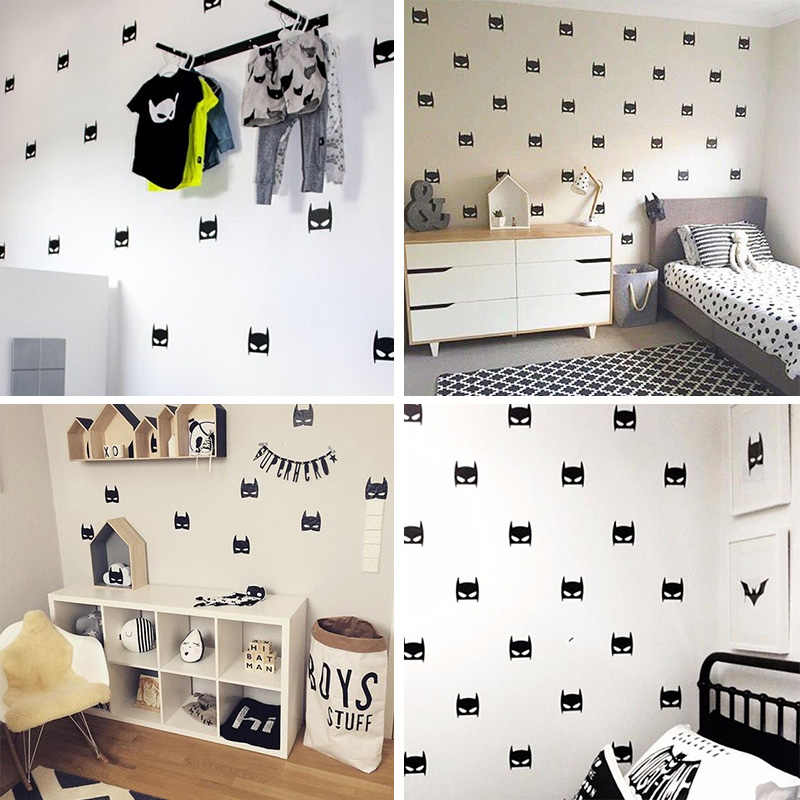 Batman Wallstickers House Decoration