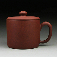 on sales real yixing zisha mug office cup with handle authentic original ore tea cup with lid 560ml China tea mug