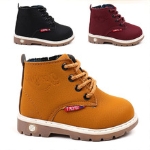 Spring Autumn Winter Children Sneakers Martin Boots Kids Shoes Boys Girls Snow Boots Casual Shoes Girls Boys Plush Fashion Boots стоимость