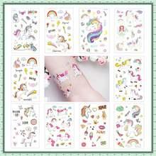 5 шт одноразовые наклейки для татуировок