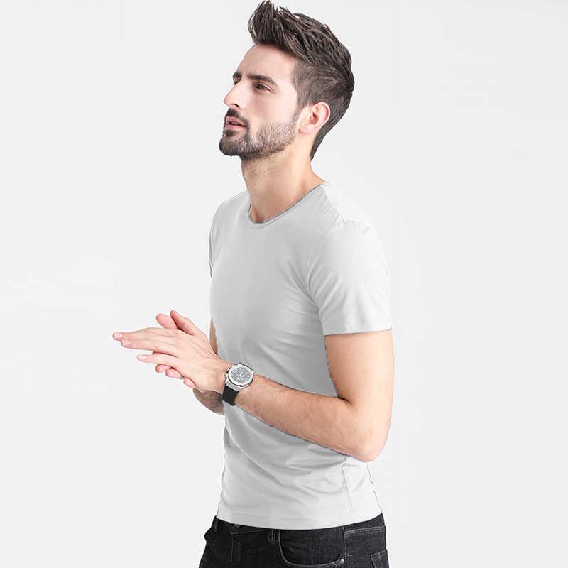 2019 yeni düz renk T Shirt Mens siyah ve beyaz 100% pamuklu t-shirt yaz kaykay Tee erkek gömlek Tops Undertale düz