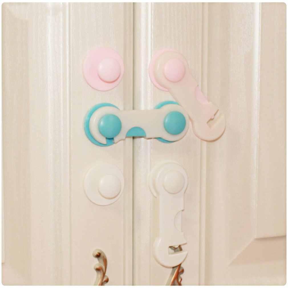 1 pcs multi-função bloqueio de segurança do bebê armário porta gaveta fechaduras de segurança do bebê crianças cuidados de segurança proteção do bebê