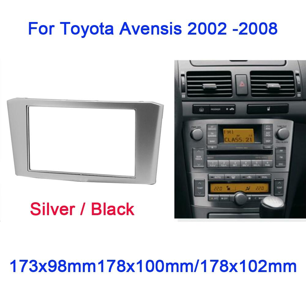 Trim Surround Adaptor Car Stereo Radio fascia for TOYOTA Avensis 2011+