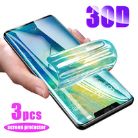 phone screen 30D Hydrogel Film For Huawei P30 Pro P20 Lite Pro P Smart 2019 Screen Protector For Huawei Mate 30 Pro 20 Lite Phone Mirror Film (1)