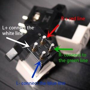 Image 3 - Cartouche magnétique stylet LP vinyle aiguille tourne disque tête denregistrement Audio remplacement stylet lecteur daiguille pour lecteur de disque vinyle