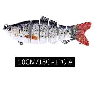 Image 5 - جديد 1 قطعة طعم سمك مفصلات 10 سنتيمتر/15 جرام البلمة البلاستيك الاصطناعي الصيد المتذبذب أدوات رعشة الأسماك Esca معالجة أدوات الصيد الطعم