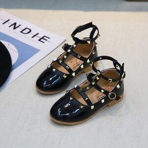 Image 4 - 2019 Yaz Kızlar Sandalet Moda Chaussure Fille Roma Çizmeler Yüksek top çocuk sandaletleri Yürümeye Başlayan Çocuk Sandalet Kızlar Ayakkabı