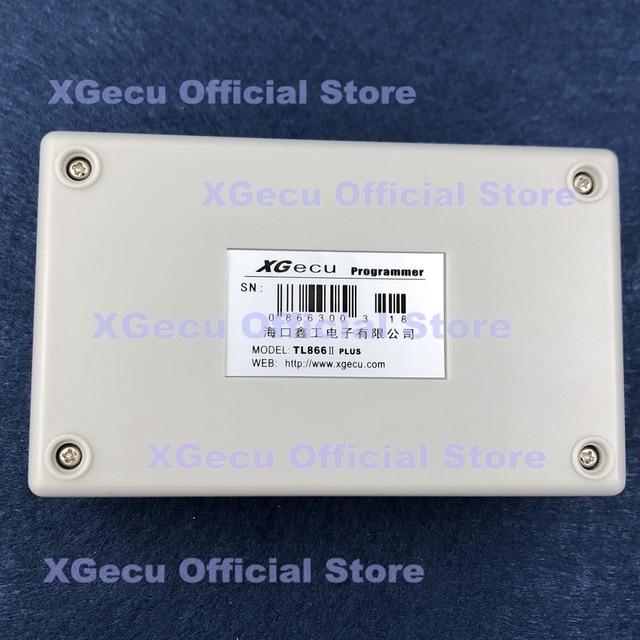 Black ZIF socket V10.13 XGecu TL866II Plus Programmer  15000+IC SPI Flash NAND EEPROM MCU PIC AVR+ 6 adapters +PLCC EXTRACTOR