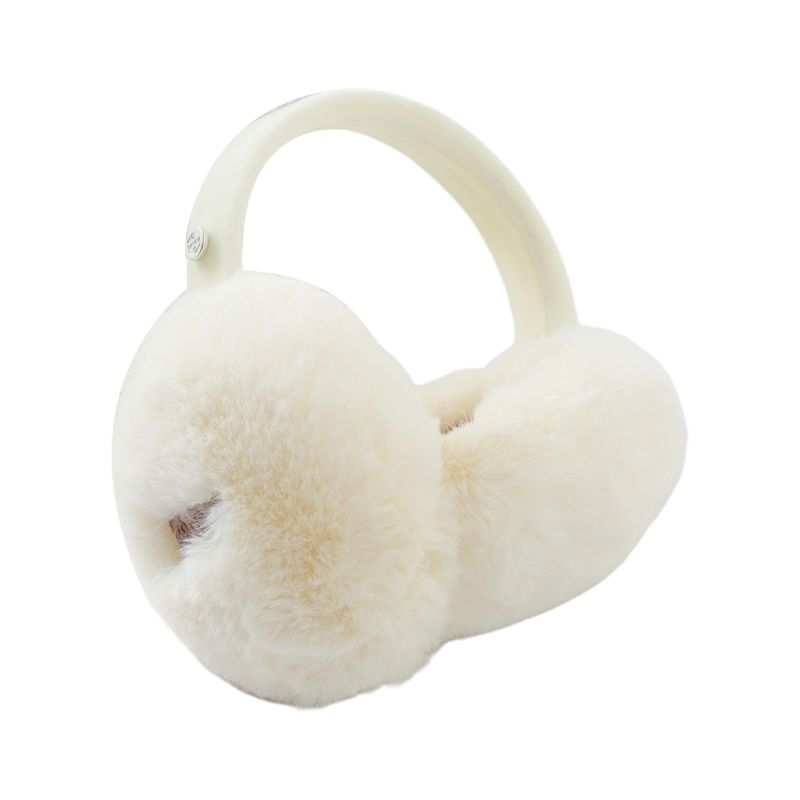 Unisex Winter Warm Bluetooth Earmuffs Wireless Plush Earphone Music Ear Warmers LX9E