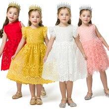 Новогоднее рождественское платье для маленьких девочек рождественское платье для девочек детское хлопковое платье в горошек костюм Санта-Клауса с юбкой-пачкой для девочек
