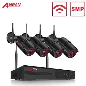Image 1 - ANRAN 1920P Kit de caméra de sécurité sans fil 5MP NVR système de Vision nocturne en plein air Wifi système de caméra de Surveillance cctv Kit vidéo
