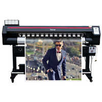 Werbung billboard drucker cmyk digitaldruck farbe aufkleber druck maschine 5 füße doppel xp600 kopf grand format drucker