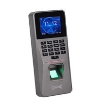 Access Control Kits DC 12V 2.4Inch TFT Display Fingerprint Password Card Door Alarm Attendance Access Control Rfid Lock