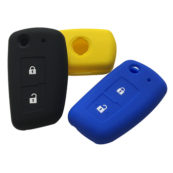Silicone Car Key Cover For Nissan X Trail T31 Tiida Murano T32 Qashqai J10 Juke Accessories Maxima Altima Geniss Key Shell Case image