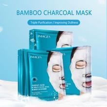New Old Packaging Randomly Moisturizing Shipped Brightening Mask Amino Acid Bamboo Charcoal Bubble Mask Mask Maquillaje TSLM2