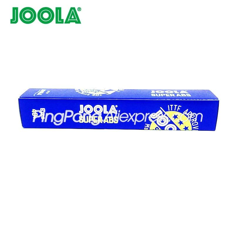 12 Balls JOOLA SUPER ABS 3-Star Table Tennis Ball ITTF Approved Plastic 40+ JOOLA 3-STAR Ping Pong Balls