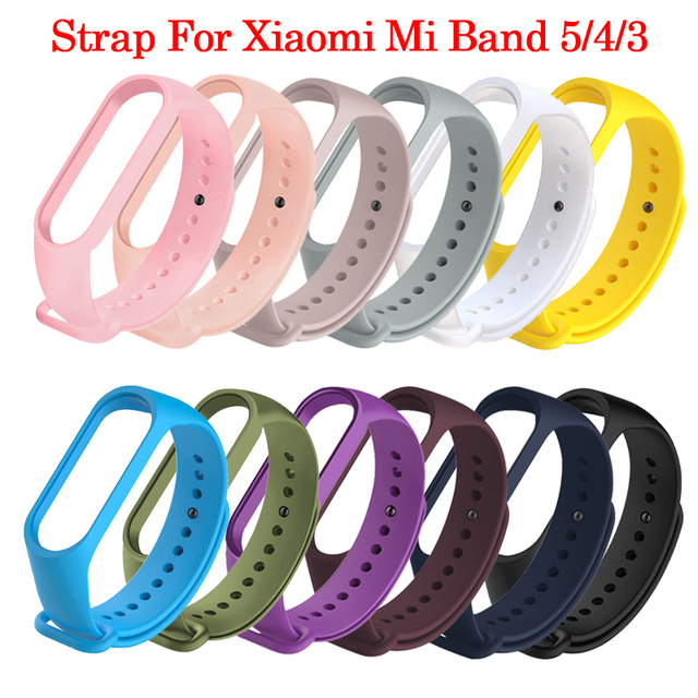 Colors Strap For Xiaomi Band 6 5 4 3 Sport Strap Wristband Replacement TPU Cartoon Strap MiBand 6 5 band 4 for xiaomi Mi Band 6 5