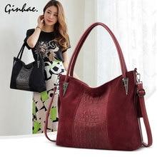 2019 Fashion New Women Faux Suede Shoulder Bag Nubuck PU Leather Handbags Vintage Tassel Hobo Bags Female Casual Crossbody Bag