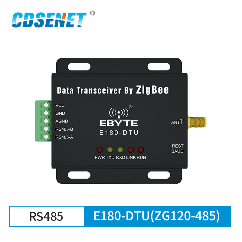 RS485 ZigBee3.0 Serial Data Transparent Transceiver Ad Hoc Networking Mesh Router Terminal Coordinator Module