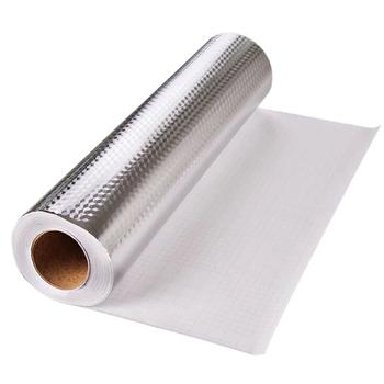 Samoprzylepny żaroodporny wodoodporny odporny na wilgoć papier z folii aluminiowej olejoodporny szczelny naklejka ścienna przybory kuchenne tanie i dobre opinie Aluminum foil paper