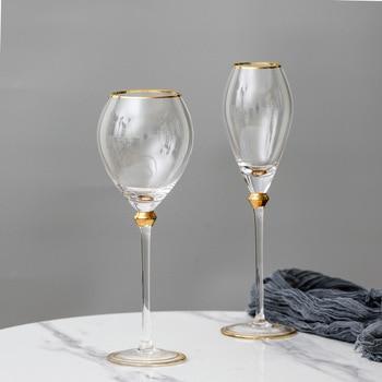 2Pcs Retro  Wine Glass  6