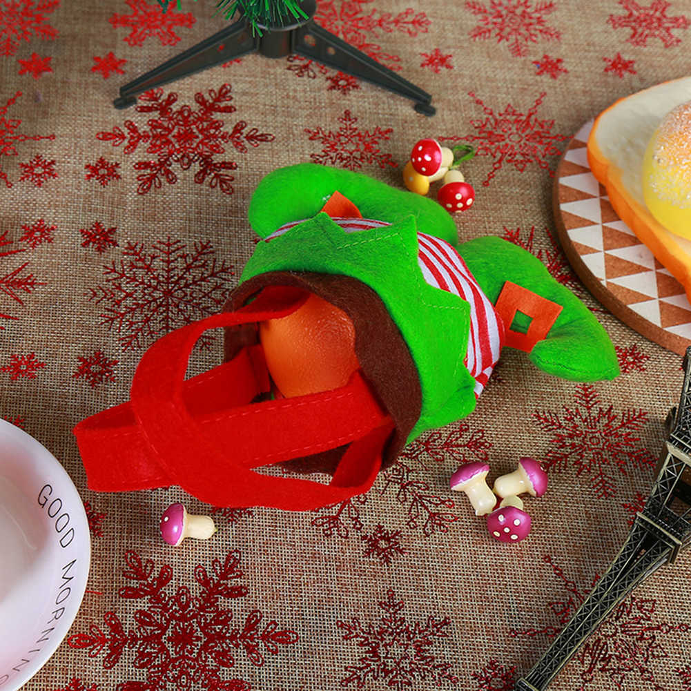 Prezent na Boże Narodzenie torba Xmas drzewa wiszące wisiorek Clown Elf duch przewodnik spodnie cukierki