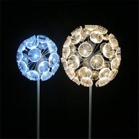 Outdoor optical fiber lighting dandelion decorative street lamp courtyard lighting