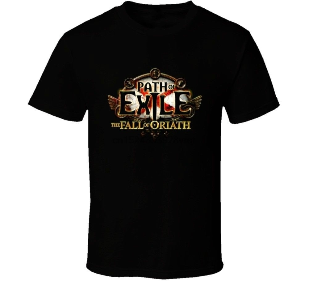 Path Of Exile The Fall Of Oriath Fan Mmorpg Gaming T Shirt Best Gifts For Friends image