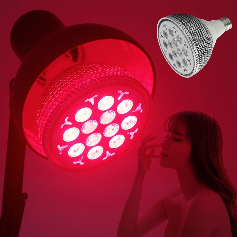 2 Lights Led Facial Machine IL-PAR24 850nm 660nm 24W Beauty Machine PDT Lamp Treatment Skin Care