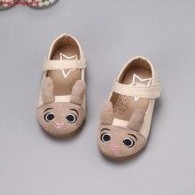Обувь для девочек; весенняя обувь принцессы для малышей; кожаные туфли на плоской подошве для девочек; тонкие туфли с героями мультфильмов для детей; балетки на плоской подошве; 1-6