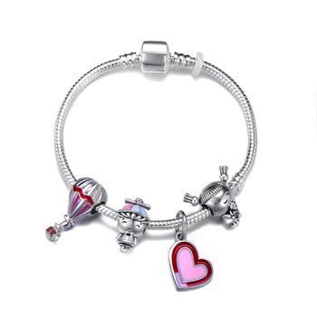 Cute Mickey Mouse Themed Bracelet Bracelets Jewelry New Arrivals Women Jewelry Metal Color: 13 Length: 20cm