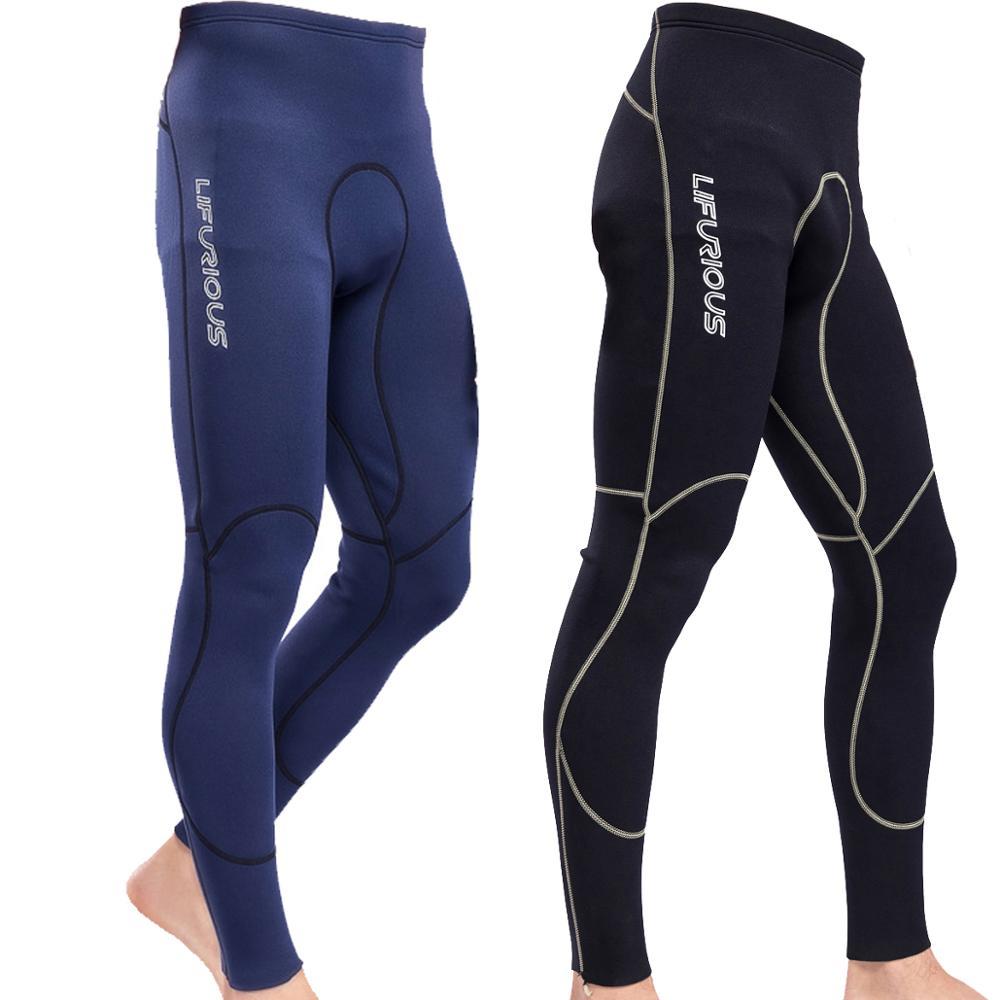 Men's 2MM  Neoprene Wetsuits Pants Diving Snorkeling Surfing Swimming Warm Trousers Leggings Tights Super Elastic Wetsuits