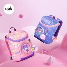 School-Bags for Girls Pink Anime Kid Kindergarten Mochila Cartoon Outdoors Backpack Lightweigh