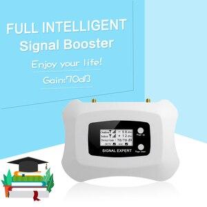 Image 3 - Ripetitore 4G LTE GSM 1800mhz amplificatore cellulare 4g GSM 1800 ripetitore di segnale Display LCD telefono cellulare ripetitore di segnale cellulare 70dB