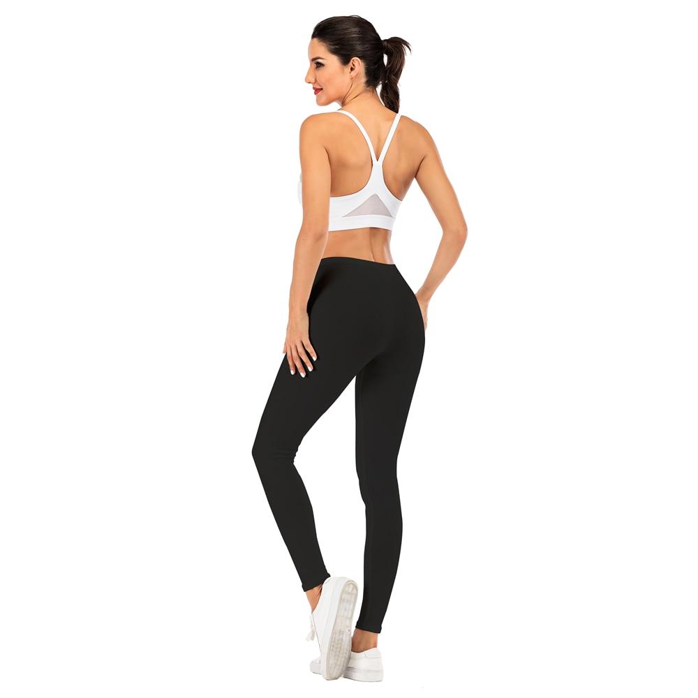 Brand Sexy Women Black Legging Fitness leggins Fashion Slim legins High Waist Leggings Woman Pants 6