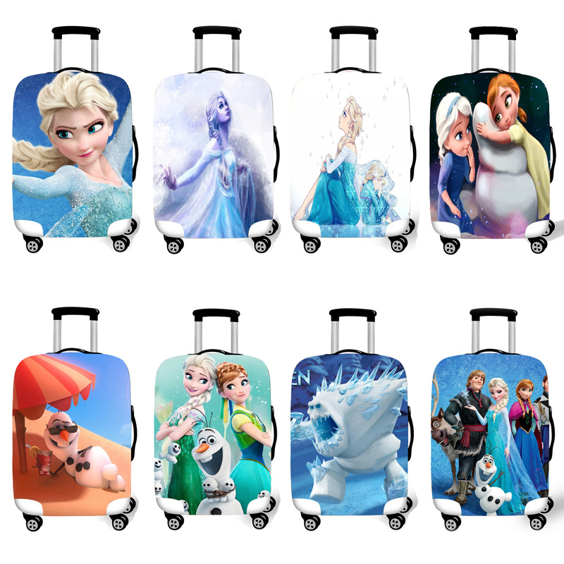 Elastic Luggage Protective Cover Case For Suitcase Protective Cover Trolley Cases Covers 3D Travel Accessories Prince Pattern 10