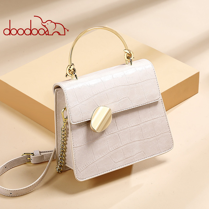 Women Shoulder Bag PU Leather Crocodile Pattern Crossbody Bag Travel Alligator Handbag Designer Tote Fashion Messenger Bag