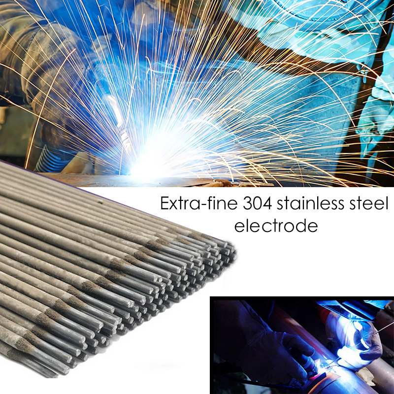 Welding-Rod-Electrodes Solder-Powder 304-Stainless-Steel for No-Need Suitable-For AC