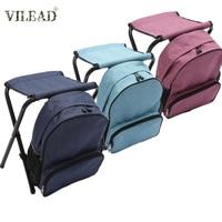 Silla de pesca plegable VILEAD de alta carga  silla plegable portátil de 4 colores para exteriores  silla para Camping  senderismo  pesca  asientos para picnic|Sillas de pesca| |  -
