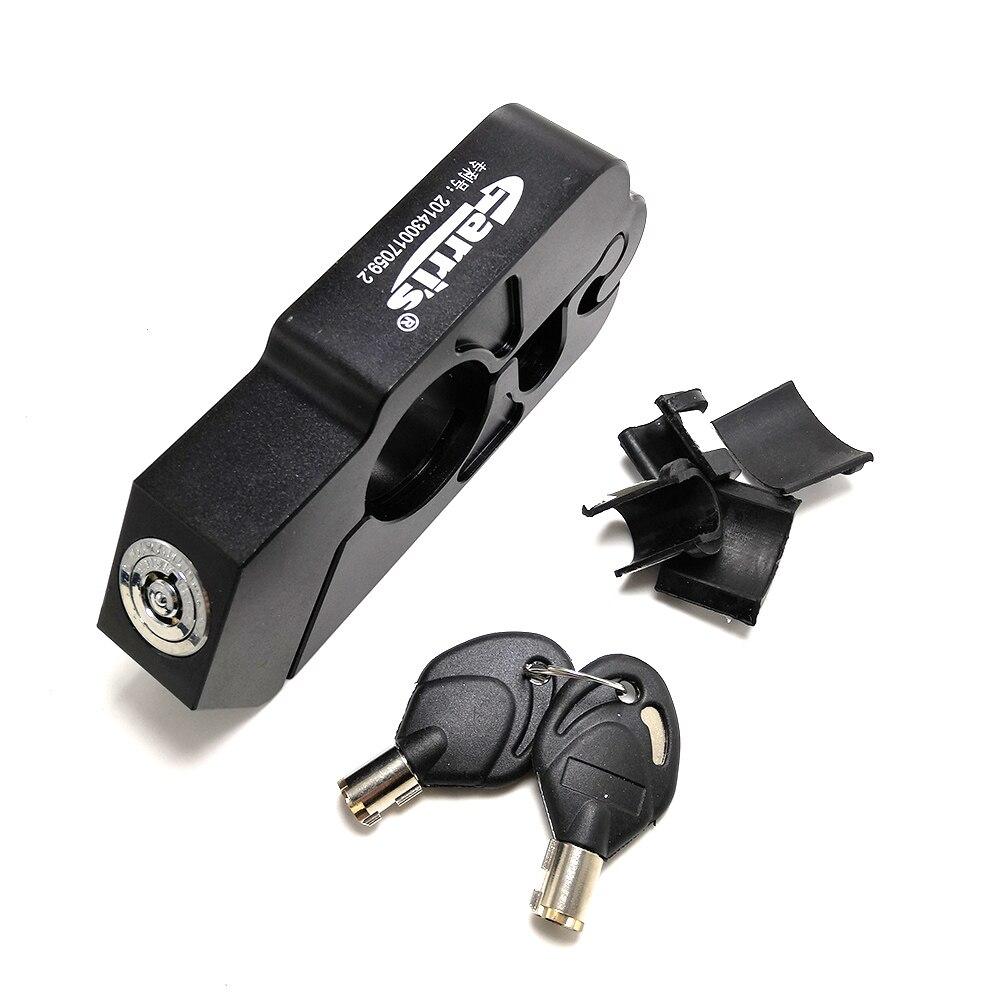 Motorcycle Handle Grip Lock Brake Lever Theft Protection Lock For SUZUKI Gsr 750 Gsx 1250fa Gsx-s1000 Gsf 600 600s Gsx-s1000f