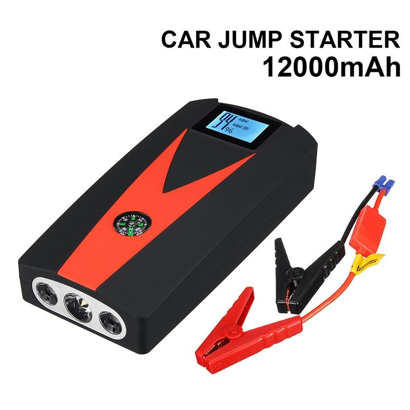 Portable Car Jump Starter >> Hot Deal 5444c Car Jump Starter 12v 600a Led 2usb Power