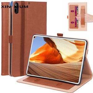 Подставка для планшета чехол для Huawei Matepad Pro 10,8 MRX-W09/W19/AL09/AL19 воловья кожа ручной ремешок PU кожаный магнитный умный чехол