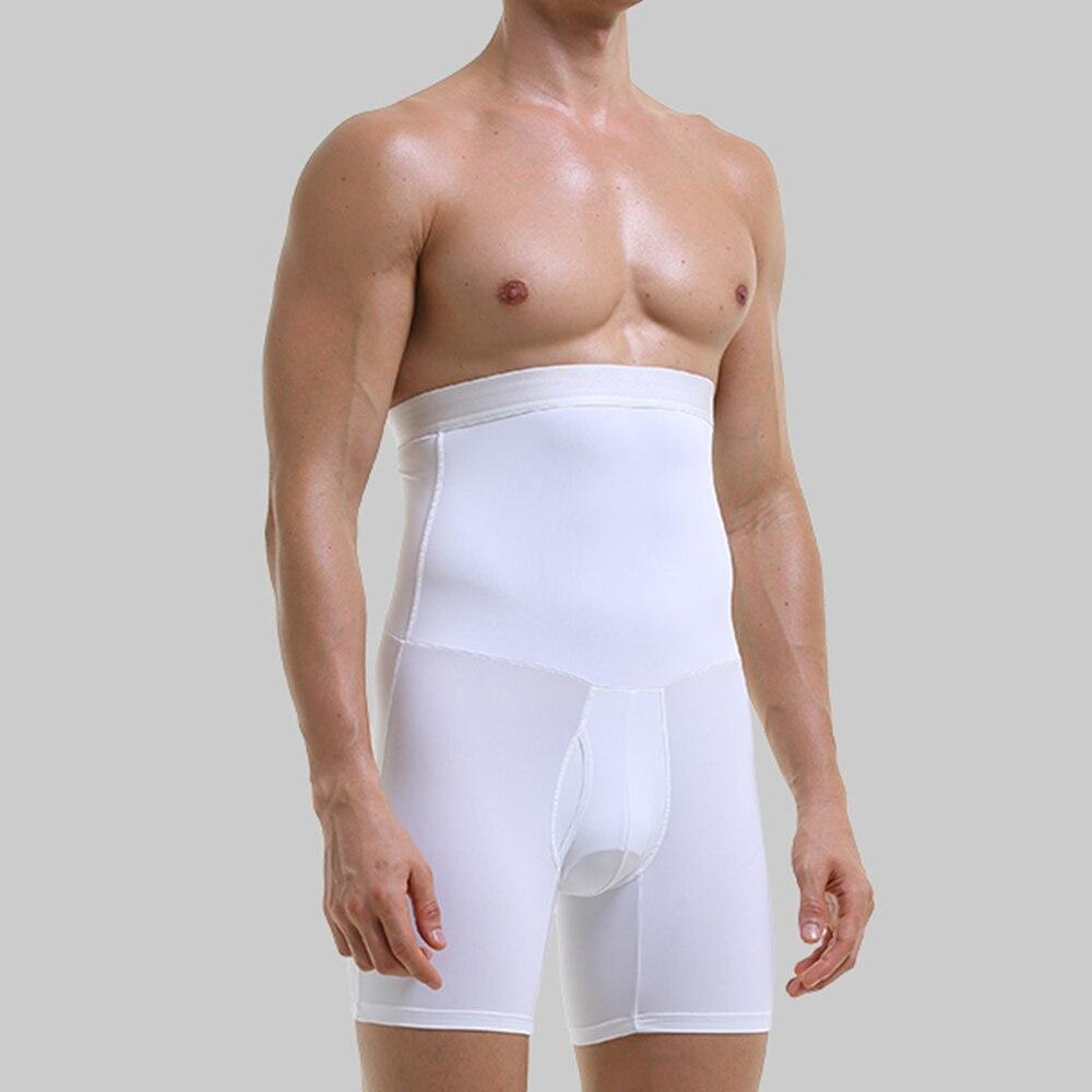 Waist Trainer Body Shaper Man  Trainers Abdominal Shapewear Men's Flat-angle Lengthened Anti-wear Legs