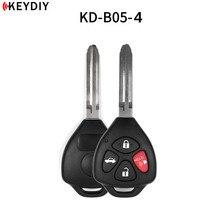 5 개/몫, 도요타 자동차 키에 대 한 새로운 KEYDIY 원래 KD900/KD X2/URG200 키 프로그래머 B 시리즈 원격 제어 B05 4