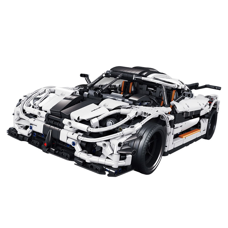 New 3136Pcs Technic series Traffic jam Model Building blocks Bricks Classic Compatible with LegoINGlys to Boy birthday Gift image