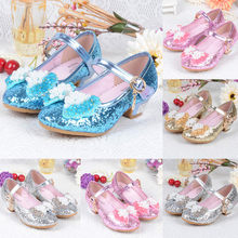 Sandals For Children Girls Pearl Crystal Bling Bow-knot Single Princess Shoes Sandals Solid Buckle Strap Rubber Sandals Girls(China)